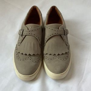 EUC Gray Frye Loafers
